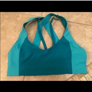 24846069b3c28 lululemon athletica Intimates   Sleepwear - SALE! Lululemon Sweat Times Bra  Teal size 10!